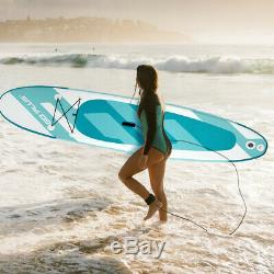 11' Inflatable Stand up Paddle Board Surfboard WithBag Water Sport All Skill Level