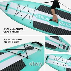 11'Professional Inflatable Stand Up Paddle Board SUP Surfboard with complete kit