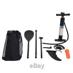 11 ft. Inflatable SUP Stand Up Paddle Board, Paddle, Pump & Carry Bag