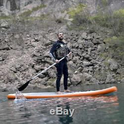 11-ft Inflatable Stand Up Paddleboard with Paddle & Hand Pump Stingray
