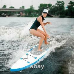 11ft Inflatable Paddle Board (6 Inches Thick) Premium Stand Up SUP Accessories