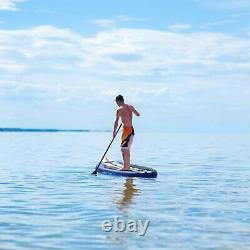 11ft Inflatable Stand Up Paddle Board Surfing SUP Boards 6 No Slip ISUP Boards