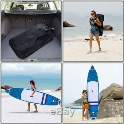 11ft Inflatable Stand Up Paddle Board iSUP with Adjustable Surfing Paddle for Tour