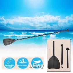120KG Inflatable SUP Stand Up Paddle Board Adjustable Paddle Travel Backpack