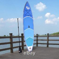 12.5' Inflatable Stand Up Paddle Board with Adjustable Paddle Travel Backpack New