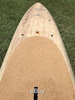 12'6 BIC SPORT EARTH SUP Biscayne 29 Stand Up Paddle Board WOOD/CORK