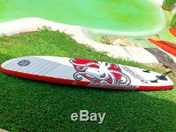 12ft Stand Up Paddle Board SUP Kit- Sail Fin Predator 1-Year Limited Warranty