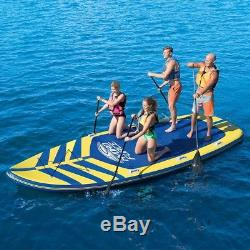 17 Inflatable Stand Up Paddle Board 4-6 People Bestway 4 Paddles 2 Hand Pumps