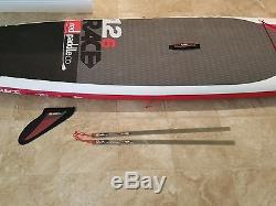 2016 Red Paddle Company 12'-6 Racing Stand Up Paddle Board Inflatable