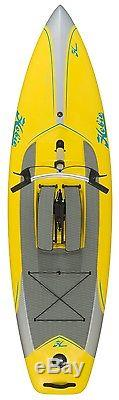 2017 Hobie Mirage Eclipse 10.5 SUP Stand Up Paddleboard Solar Yellow