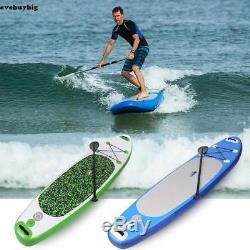 2018 ANCHEER 10' 6 SUP Inflatable Stand Up Paddle Board & with Adjustable Paddle