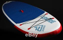 2018 Fanatic Pure Air Inflatable 10' 4 SUP Stand Up Paddle Board Package