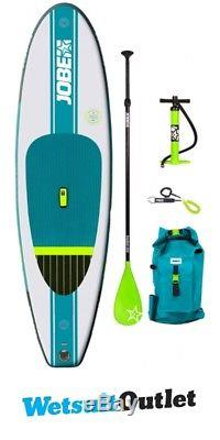 2018 Jobe Aero Volta Inflatable Stand Up Paddle Board 10'0 x 32 INC Paddle, Bac