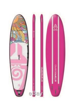 2018 Starboard Inflatable Tikhine 10'2x31 Zen Stand Up Paddle Board Sup S. U. P
