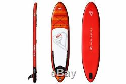 2019 Aqua Marina Atlas 12' Stand Up Paddle Board Inflatable SUP with Paddle