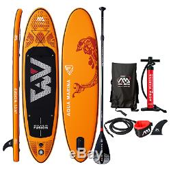 2019 Aqua Marina Fusion Inflatable Stand Up Paddle Board with Paddle 10'4'