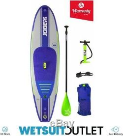 2019 Jobe Desna Inflatable Stand Up Paddle Board 10'0 x 32 INC Paddle Backpack