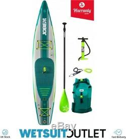 2019 Jobe Neva Inflatable Stand Up Paddle Board 12'6 x 30 INC Paddle Backpack