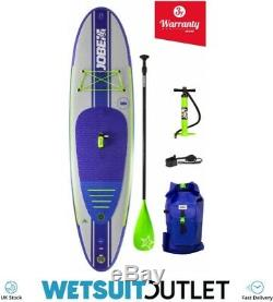 2019 Jobe Yarra Inflatable Stand Up Paddle Board 10'6 x 32 INC Paddle Backpack