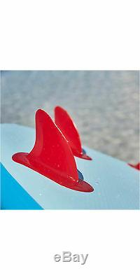2019 Red Paddle Co Ride 10'6 Inflatable Stand Up Paddle Board + Bag, Pump, Paddl