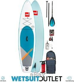 2019 Red Paddle Co Sport 12'6 Inflatable Stand Up Paddle Board + Bag Pump