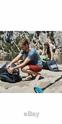 2019 Red Paddle Co Voyager 12'6 Inflatable Stand Up Paddle Board + Bag Pump
