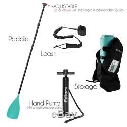 9.8 Foot Inflatable sup Stand Up Paddle Board, iSUP, Paddle, Bag, Surf Control
