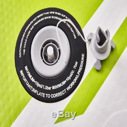 9' Inflatable Stand Up Paddle Board SUP Surfboard High Quality Reinforced