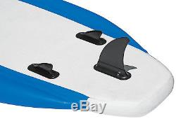 AIRHEAD AHSUP-2 SUP SS Super Stable Inflatable Stand Up Paddleboard with Paddle