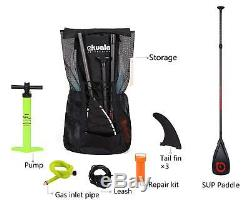 AKUALA inflatable SUP board ALL-AROUND Stand Up Paddle Board SUP Package 11'WIN