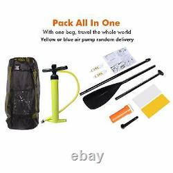 ANCHEER 10FT (6''Thick) Inflatable Stand Up Paddle Board iSUP with Accessories