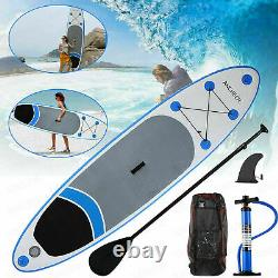 ANCHEER 10FT Inflatable Stand Up Paddle Board iSUP with Adjustable Backpack USA