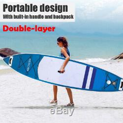 ANCHEER 11'6' Inflatable Stand Up Paddle Board SUP with Adjustable Paddle Backpack