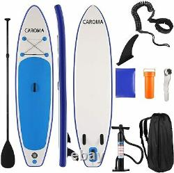 ANCHEER 11' Inflatable Stand Up Paddle Board ISUP Non-Slip Deck +Pump Backpack
