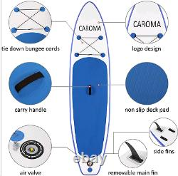 ANCHEER 11' Inflatable Stand Up Paddle Board ISUP Non-Slip Deck Pump Full Kits