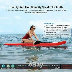 ANCHEER 12ft/305cm Inflatable SUP Paddle Board Stand Up Paddleboard Kayak 3 fin
