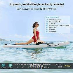 ANCHEER 6x10' Inflatable Stand Up Paddle Board SUP Surfboard with Complete Kits