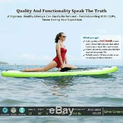 ANCHEER Inflatable SUP Stand Up Paddle Board, Paddle, Pump & Carry Bag