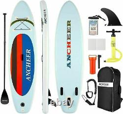 ANCHEER Inflatable Stand Up Paddle Board SUP Surfboard with complete kit Paddle