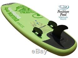 AQUA MARINA BREEZE INFLATABLE STAND-UP PADDLE BOARD 9' 9 With PUMP & PADDLE