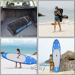 Ancheer 10ft 6' Inflatable SUP Stand Up Paddle Board, Paddle, Pump Carry Bag TOP