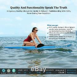 Ancheer 11' Inflatable Stand Up Paddle Board SUP With Adjustable Paddle Backpack