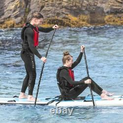 AquaTec Paddle Boards 2/4 Person LUXURY SUP BOARDS Stand Up Board + Paddle