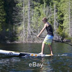 Aqua Marina BT-17MA Magma 10 Foot Inflatable SUP Stand Up Paddleboard with Mount