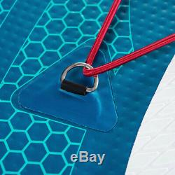 Aqua Marina BT-18EC Echo 10.6 Foot Inflatable SUP Stand Up Paddleboard with Paddle