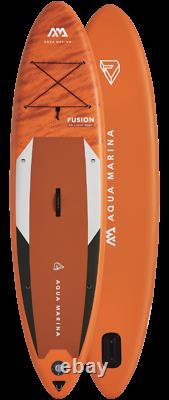 Aqua Marina Inflatable Fusion Sup Isup Stand Up Paddle Board With Paddle