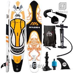 Aqua Marina Magma 10'10 Inflatable Stand Up Paddle Board SUP 6 Thick with Leash