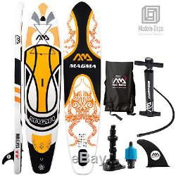 Aqua Marina Magma 10'10 Stand Up Paddle Board Inflatable SUP (6 Thick) with Bag
