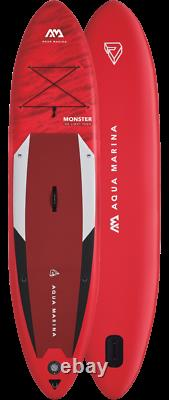 Aqua Marina Monster Stand Up Paddle Board Inflatable SUP with Paddle I-SUP