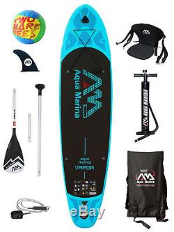 Aqua Marina Vapor 10'10 Inflatable SUP Stand Up Paddle Board Deluxe Pack